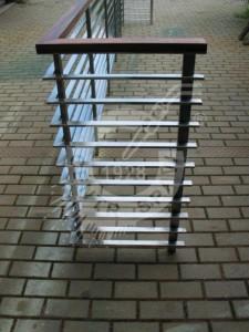 Poręcz stal nierdzewna balustrada