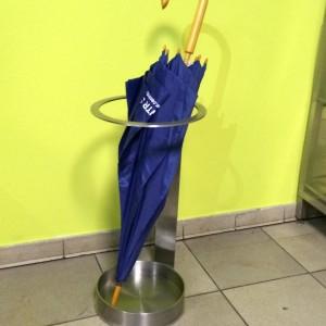 stalowy stojak na parasole (stal nierdzewna)